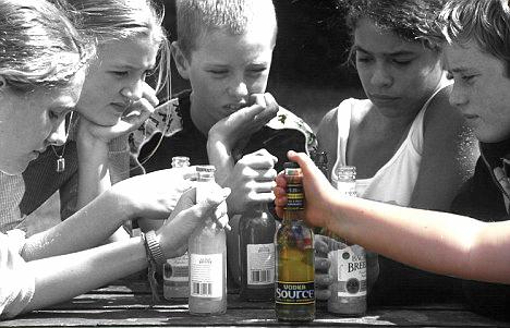 drank gebruik onder jongeren